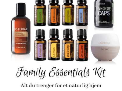 startpakke doterra family essentials