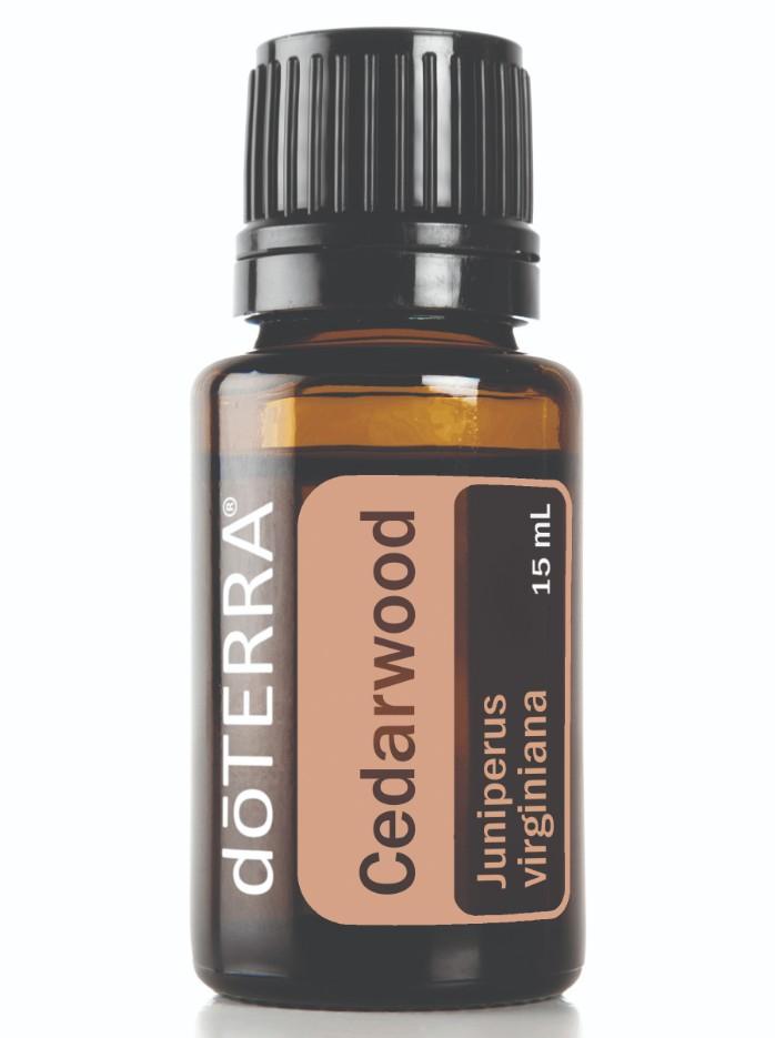 eterisk olje av cedarwood